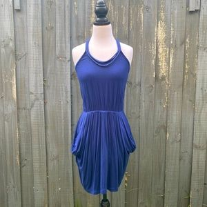 Country Road Blue Sleeveless Casual Mini Dress XS